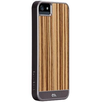 Case Mate Artistry Woods pro iPhone 5 - světle hnedá