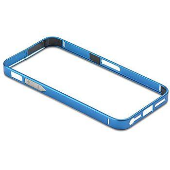 PanzerGlass ochranný hliníkový rámeček pro Apple iPhone 5/5s, modrý