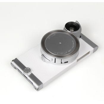 Ztylus Revolver Metal sada objektivů pro iPhone SE/5S/5, bílý