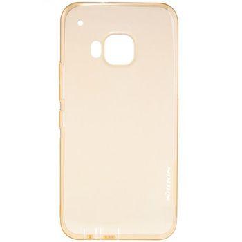 Nillkin pouzdro Nature TPU pro HTC ONE M9, transparentní, hnědé