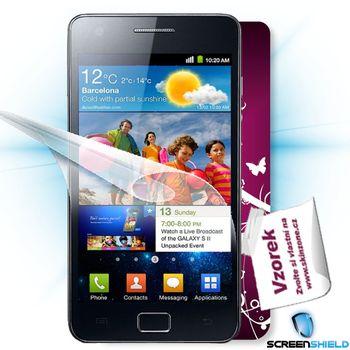Fólie ScreenShield Samsung Galaxy S II ochrana displeje-displej+voucher na skin
