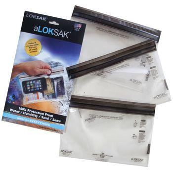 aLOKSAK vodotěsný sáček pro tablety (15,9 x 22,9 cm) - 3ks v balení