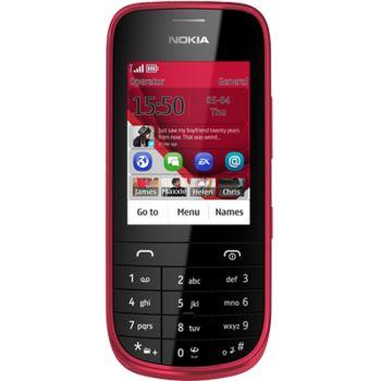 Nokia Asha 203 červená
