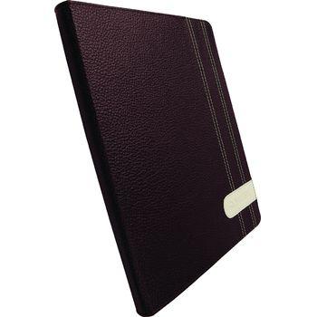 Krusell pouzdro Gaia Apple Nový iPad/iPad 2 - hnědá