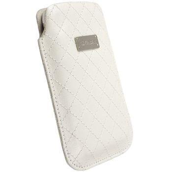 Krusell pouzdro Coco Pouch - XL - HTC HD2, SE Aspen/Xperia X10  66x114x15 mm (bílá)