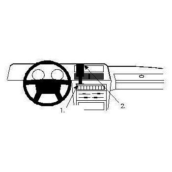 Brodit ProClip montážní konzole pro Volvo 240 81-97, na střed