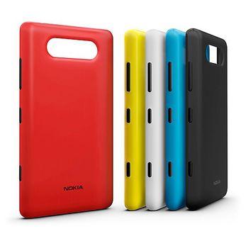 Nokia kryt pro bezdrátové nabíjení CC-3041 - Nokia Lumia 820, červená
