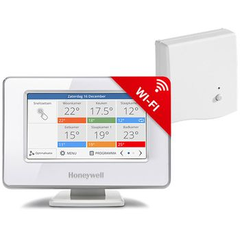 Honeywell EvoTouch-WiFi ATP921R3052, řídící jednotka s napájením + BDR91, CZ
