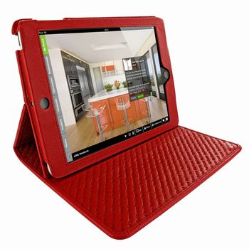 Piel Frama pouzdro pro iPad Mini Cinema Model, Crocodile Red