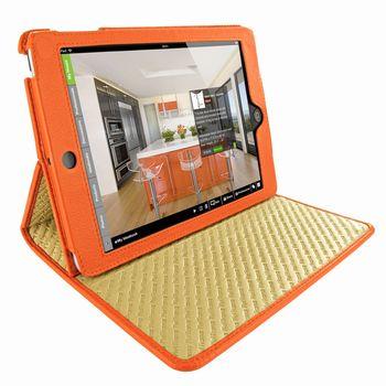 Piel Frama pouzdro pro iPad Mini Cinema Model, Crocodile Orange