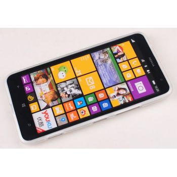 Jekod TPU silikonový kryt Nokia Lumia 1320, bílá