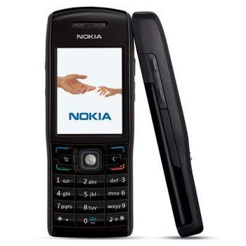 Nokia E50-1 - Metal Black s fotoaparátem