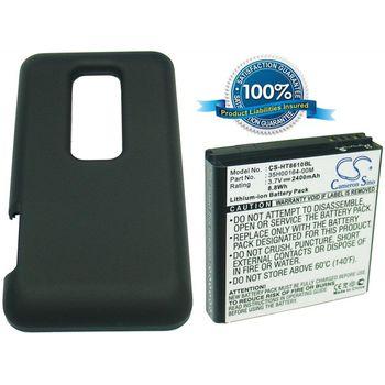 Baterie rozšířená pro HTC EVO 3D, 2400mAh, Li-ion
