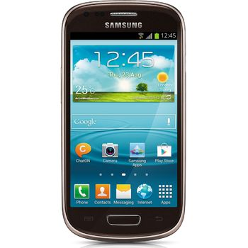 Galaxy S III Mini NFC hnědý + držák bez nabíjení Brodit