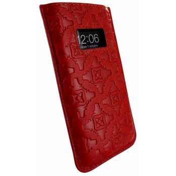 Piel Frama pouzdro pro iPhone 5 Pull Case, Red