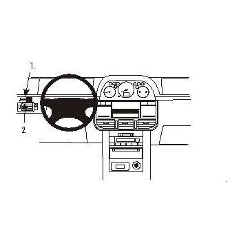 Brodit ProClip montážní konzole pro Nissan X-Trail 02-03