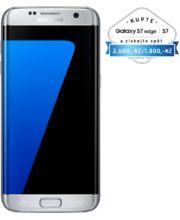 Samsung Galaxy S7 G935 Edge 32GB, stříbrná, akce cashback 2 600 Kč
