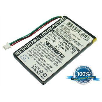 Baterie pro Garmin Nüvi 770, Li-pol 3,7V 1250mAh