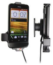 Brodit držák do auta na HTC One V bez pouzdra, se skrytým nabíjením