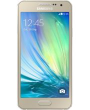 Samsung Galaxy A3 A300, dual sim, zlatá