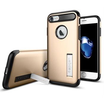 Spigen ochranný kryt Slim Armor pro iPhone 7, zlatá