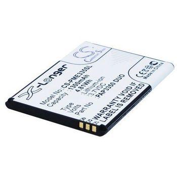 Baterie pro Prestigio MultiPhone 3350 Duo, Li-ion 3,7 V, 1300 mAh