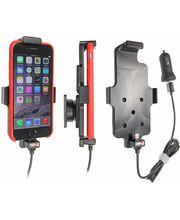 Brodit držák do auta na Apple iPhone 6/6s/7 v pouzdru, s pružinou, s nabíjením z cig. zapalovače/USB