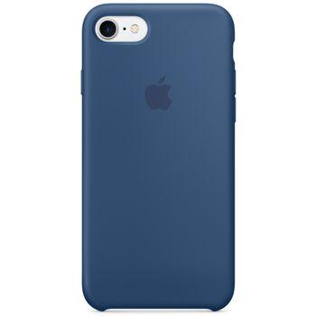 Apple silikonový kryt pro iPhone 7, mořsky modrý