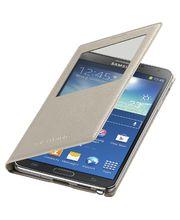 Samsung flipové pouzdro S-view EF-CN900BU pro Note 3 béžové