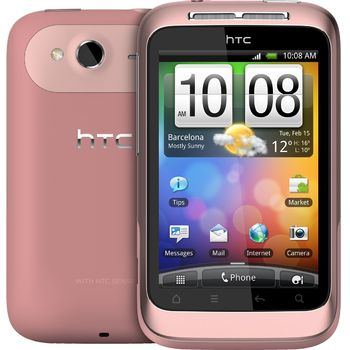 HTC Wildfire S růžová