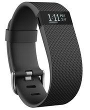 Fitbit Charge HR (s měřením tepu), velikost L, černý