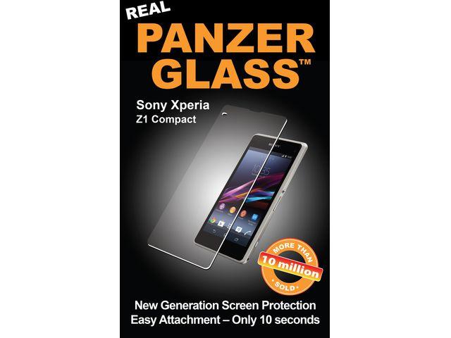 obsah balení Krusell FrostCover kryt černá transparetní  + PanzerGlass sklo pro Sony Xperia Z1 Compact