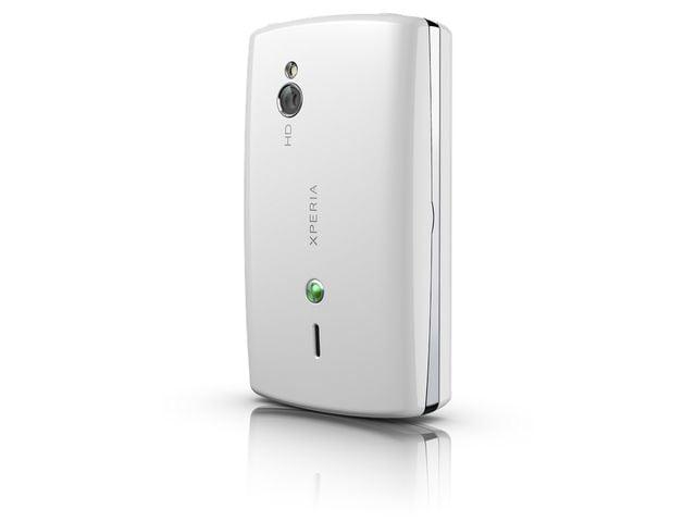 obsah balení Sony Ericsson Xperia mini pro - bílá + náhradní originální baterie Sony Ericsson