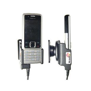 Brodit držák do auta pro Nokia 6300 s kabelem CA-116/113/134 bez nabíjení