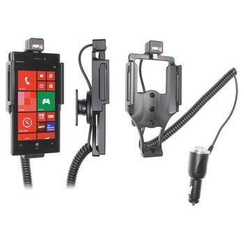 Brodit držák do auta na Nokia Lumia 928 bez pouzdra, s nabíjením z cig. zapalovače