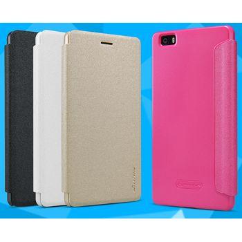 Nillkin flipové pouzdro Sparkle Folio pro Huawei P8 Lite, bílá