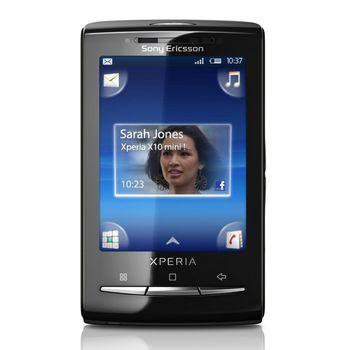 Sony Ericsson Xperia X10i Mini Black/Lime + reproduktory MS450 zdarma