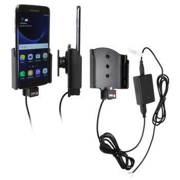 Brodit držák do auta na Samsung Galaxy S7 edge bez pouzdra, se skrytým nabíjením