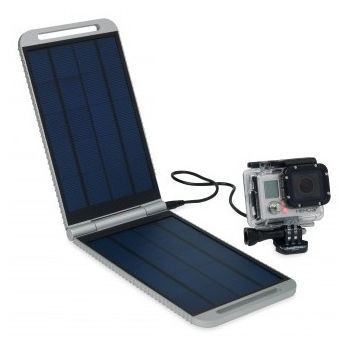 Powertraveller solarmonkey expedition, stříbrná