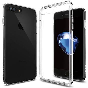 Spigen ochranný kryt Ultra Hybrid pro iPhone 7 plus, průhledná