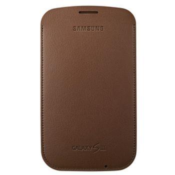 Samsung pouzdro EFC-1G6LCE pro Samsung Galaxy S III (i9300), Chestnut Brown