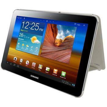 Samsung pouzdro Book Cover EFC-1B1N pro Galaxy TAB 10.1 (P7500/P7510), bílo krémová