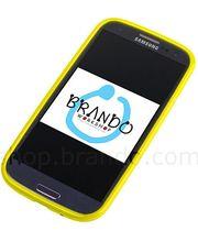 Pouzdro měkké plastové Brando - Samsung Galaxy S III i9300 (žlutá)