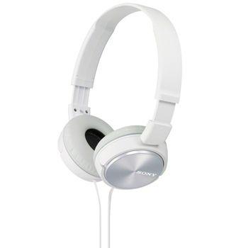 SONY sluchátka MDR-ZX310, bílá