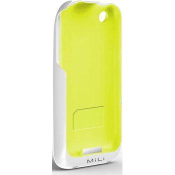 Mili power skin HI-C20 white/green iPhone 3G,3GS