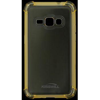 Kisswill Shock TPU pouzdro pro Samsung J120 Galaxy J1 2016, zlatá
