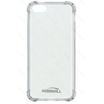 Kisswill Shock TPU pouzdro pro iPhone 5/5S/SE, transparentní