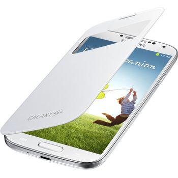 Samsung flipové pouzdro S-view EF-CI950BW pro Galaxy S4 (i9505), bílé