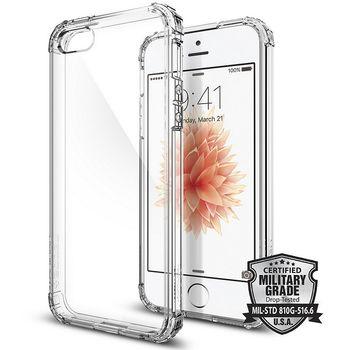 Spigen pouzdro Crystal Shell pro iPhone SE/5s/5, průhledná
