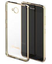 Mozo zadní kryt s rámečkem pro Lumia 650, zlatý